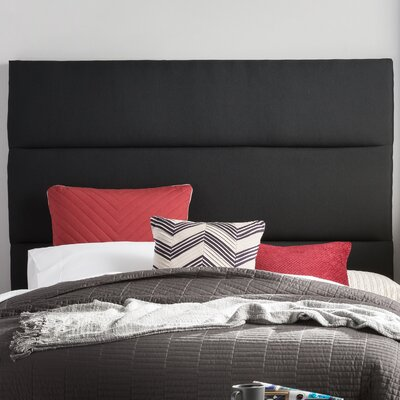Franklin Square Upholstered Panel Headboard Size: King