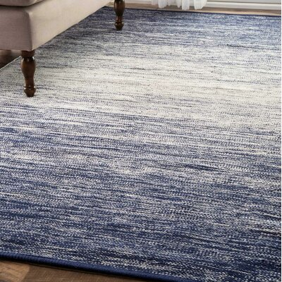 Algedi Blue Area Rug Rug Size: Rectangle 86 x 116