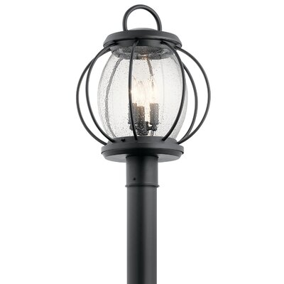 Brayden Studio Haddox Outdoor 3-Light Lantern Head BRYS8085 34687456