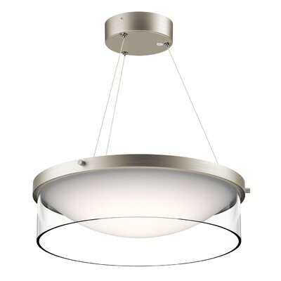 Guernsey 1-Light LED Drum Pendant
