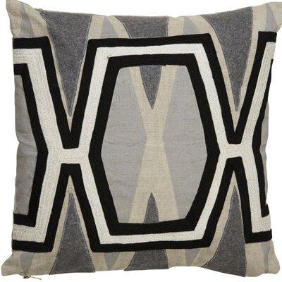 Crabb Pattern Linen Throw Pillow
