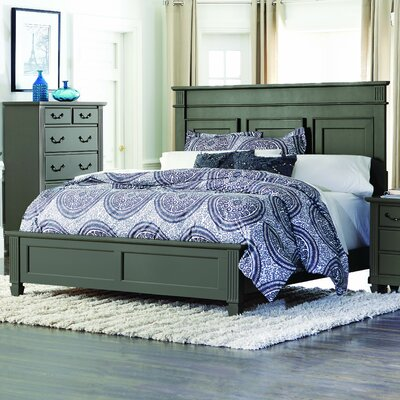 Gunther Panel Bed Size: King