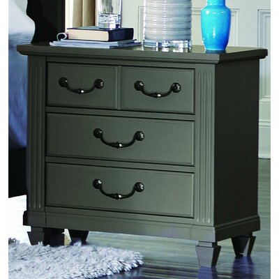 Steigerwald 4 Drawer Nightstand