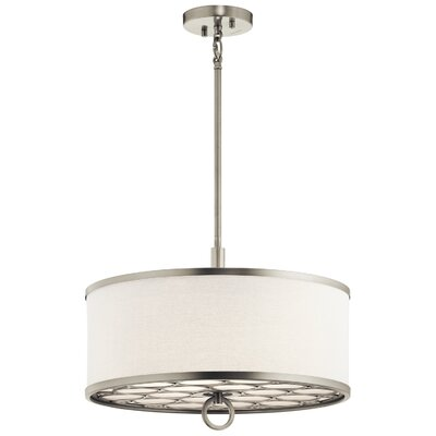 Gwaltney 3-Light Drum Pendant