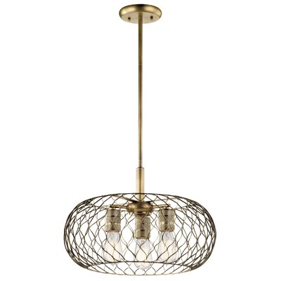 Rapier 3-Light Foyer Pendant