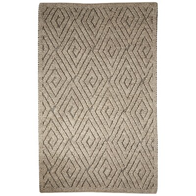 Plush Joshua Hand-Woven Wool Taupe Area Rug Size: Rectangle 9 x 12
