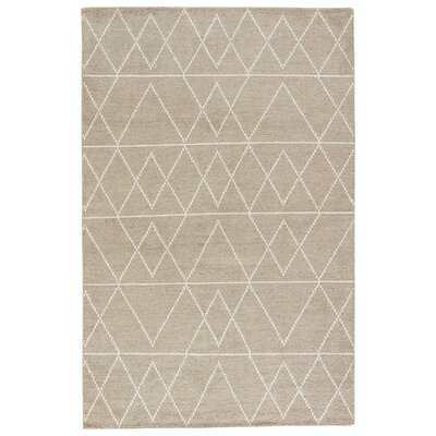 Geist Hand-Loomed Eucalyptus/Egret Area Rug Rug Size: Rectangle 5 x 8