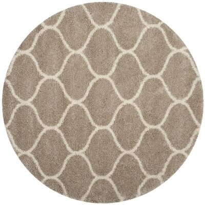 Humberto Shag Beige Area Rug Rug Size: Rectangle 51 x 76