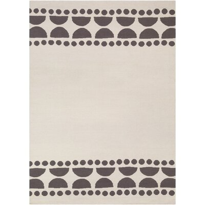 Gerner Hand-Woven Lilac/Ivory Area Rug Rug size: 8 x 11