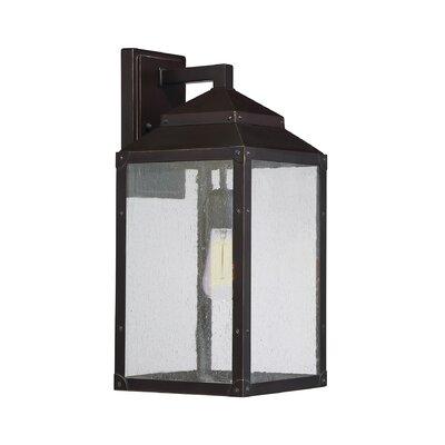 Brayden Studio Knushevia 1-Light Outdoor Wall Lantern