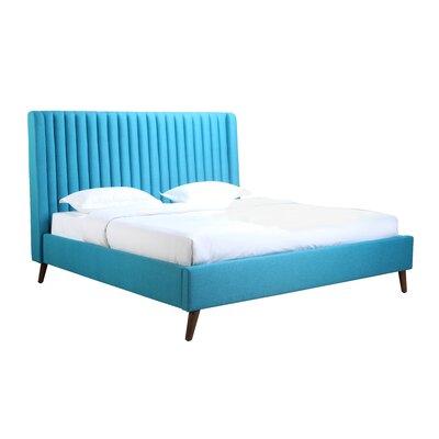 Geller Upholstered Platform Bed Size: Queen