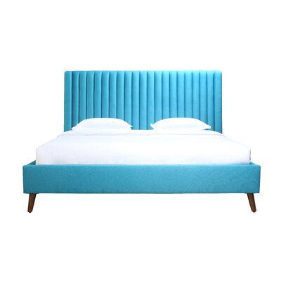 Geller Upholstered Platform Bed Size: King