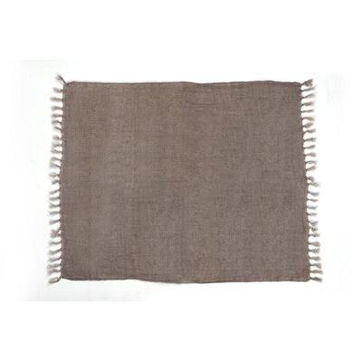 Feingold Linen Throw Color: Light Brown