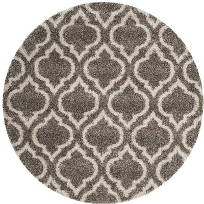 Melvin Gray/Beige Area Rug Rug Size: Rectangle 8 x 10