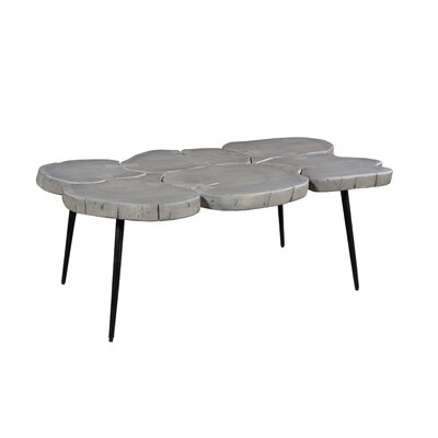 Borton Coffee Table Color: Light Grey