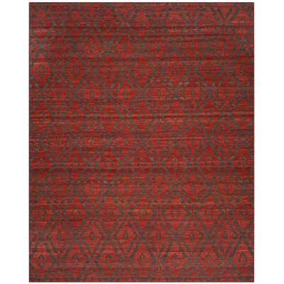 Sneyd Park Hand-Woven Area Rug Rug Size: Rectangle 8 x 10