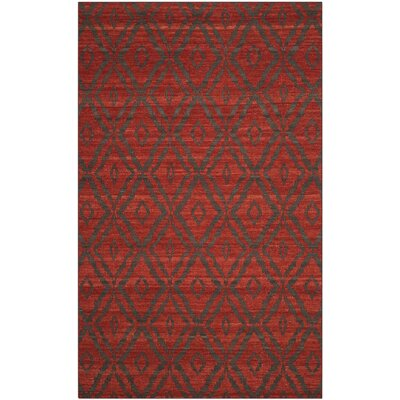Sneyd Park Hand-Woven Area Rug Rug Size: Rectangle 5 x 8