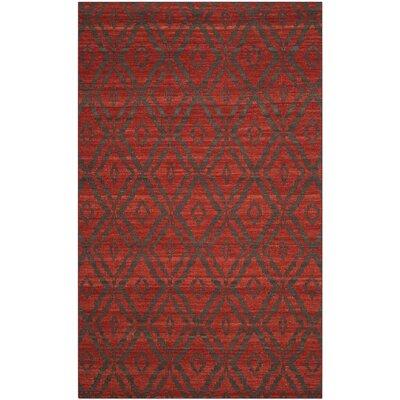 Sneyd Park Hand-Woven Area Rug Rug Size: 5 x 8
