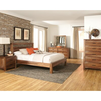 Fortson Platform Bed Size: King