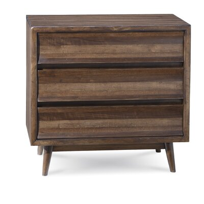 Gullickson 3 Drawers Bachelors Chest