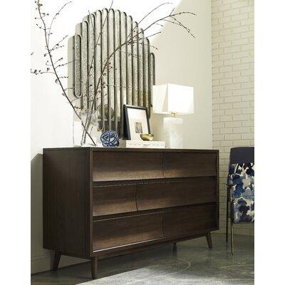 Gullickson 7 Drawer Dresser with Mirror