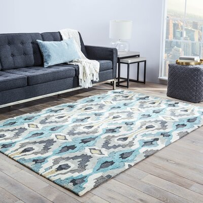 Benninger Hand-Tufted Area Rug Rug Size: Rectangle 76 x 96