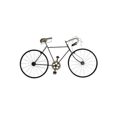 Bicycle Wall Décor Color: Antique Silver