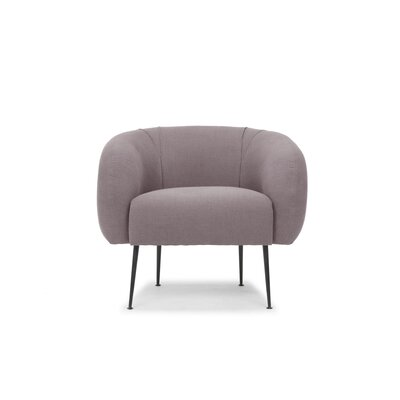 Depuy Barrel Chair Upholstery: Lavender