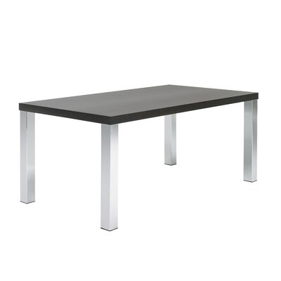 Durkee Dining Table Top Finish: Wenge, Size: 28 H x 63 L x 35 W