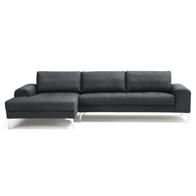 Depuy Sectional Upholstery: Anthracite