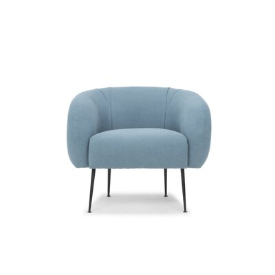 Depuy Barrel Chair Upholstery: Turquoise