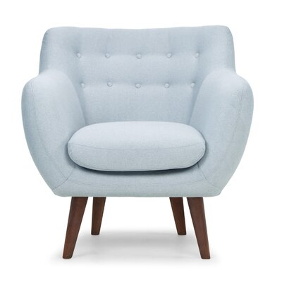 Depuy Armchair Color: Blue
