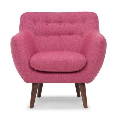 Depuy Arm Chair Color: Blush