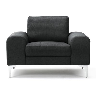 Depuy Armchair Upholstery Color: Anthracite