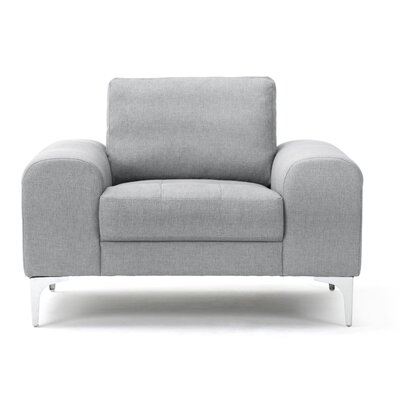 Depuy Armchair Upholstery Color: Gray