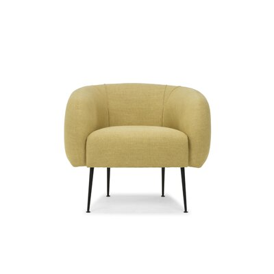 Depuy Barrel Chair Upholstery: Curry