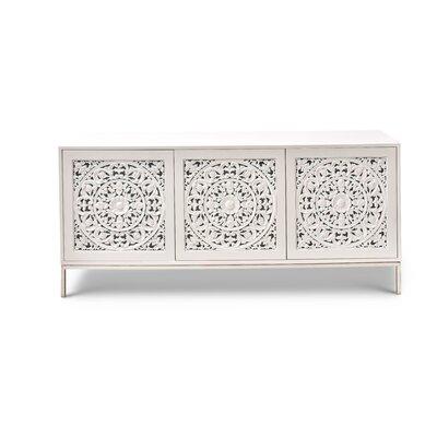 Farnum Sideboard Color: White