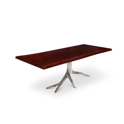 Farnum Dining Table Finish: Electroplated Nickel