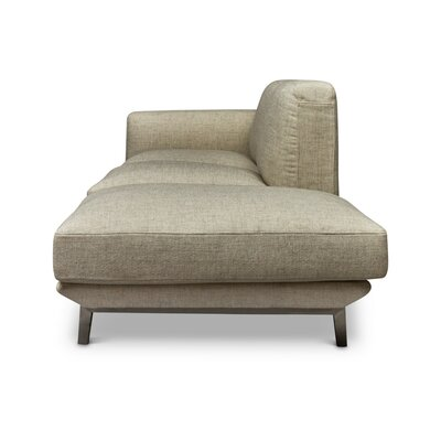 Depuy Chaise Lounge Color: Beige