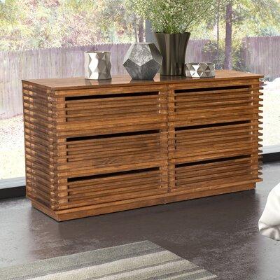 Glidden 6 Drawer Double Dresser