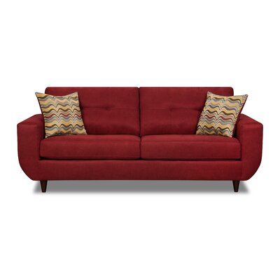 Simmons Upholstery Gudino Sofa Upholstery: Cayenne