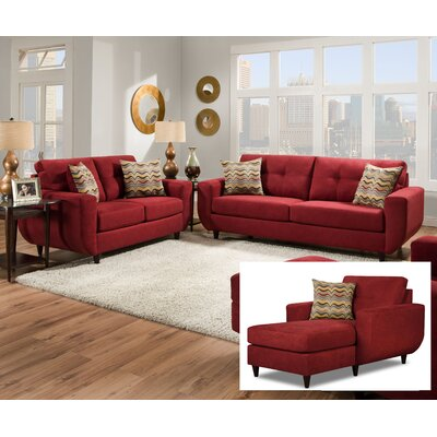 BRYS8478 Brayden Studio Living Room Sets