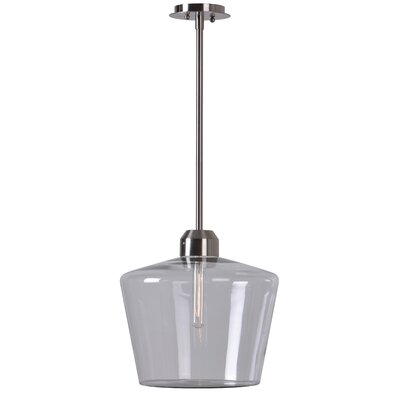 Grossi 1-Light Mini Pendant Finish: Brushed Steel