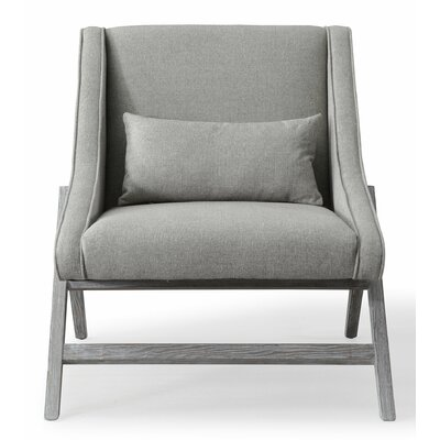 Gualtieri Armchair Upholstery: Gray