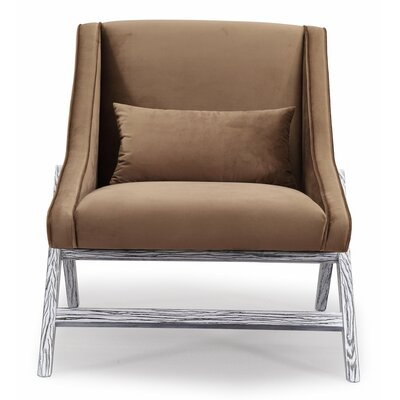 Gualtieri Arm Chair Upholstery: Pecan