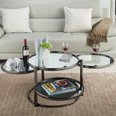 Guimond Coffee Table Finish: Black