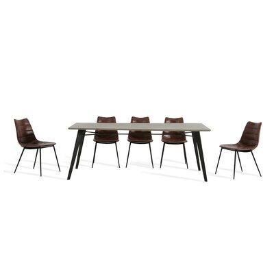 Guajardo and Gilliam 9 Piece Dining Set