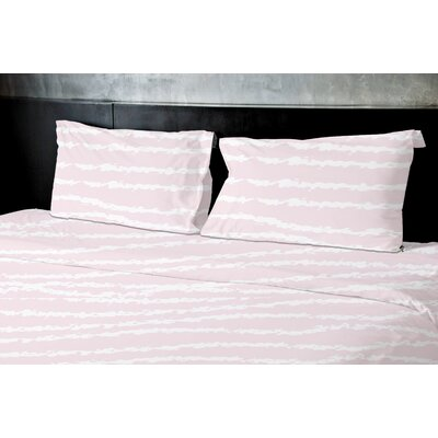 Convery Duvet Set Size: King, Color: Pink