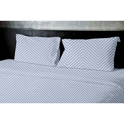 Dudek Duvet Set Color: Blue, Size: Queen