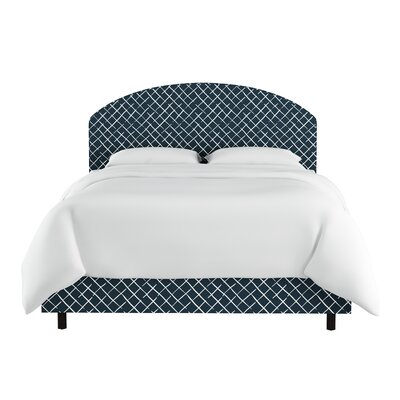 Cosenza Curved Upholstered Panel Bed Size: Full